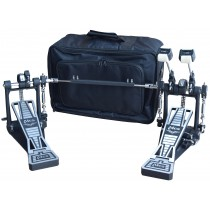 MES PE2000TW POWER GLIDE TWIN BASS DRUM PEDAL WITH BAG