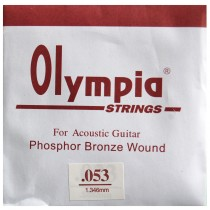 Z/ SINGLE .053 - 1 STRINGS ACOUSTIC