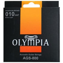 OLYMPIA ACOUSTIC STRINGS 10-47
