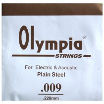 Z/ SINGLE .009 - 1 STRINGS ACOUSTIC or ELECTRIC