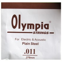 Z/ SINGLE .011 - 1 STRINGS ACOUSTIC or ELECTRIC