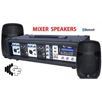 GROOVE FACTORY PMA4 KIT WITH 2 X 12'' PASSIVE SPEAKERS