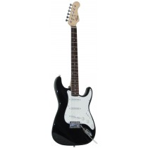 *NEW* TONE STRAT-TYPE ELECTRIC GUITAR - BLACK