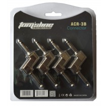 TOMSLINE ACR-3B ''Z'' TYPE 1/4 CONNECTORS FOR PEDALS - PACK OF 4