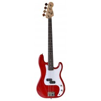 Tone Precision Bass - Transparent Red