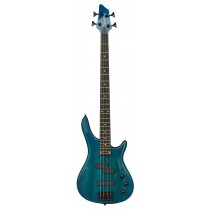 TONE B9300 ELECTRIC BASS - TRANSPARENT BLUE