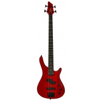 TONE B9300 ELECTRIC BASS - TRANSPARENT RED