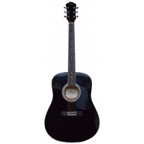 Tone WD601 acoustic full size guitar - Black