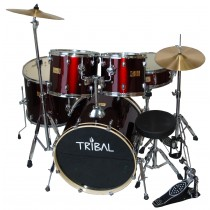 TRIBAL LANCE 801 SERIES - WINE RED