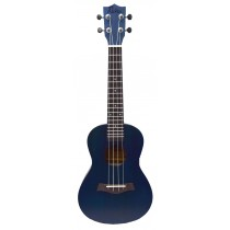 ALOHA SK600OP SOPRANO UKULELE - OPEN PORE FINISH - DARK BLUE