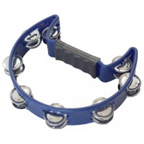 VIPER HALF-MOON TAMBOURINE IN BLUE