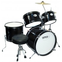 VIPER JR. DRUM SET METALLIC BLACK