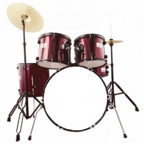 VIPER 3401 STUDENT DRUMSET IN WINE RED