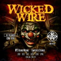 KERLY KUES - WICKED WIRE - NPS ROUND WOUND - KXW-1046