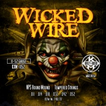 KERLY KUES - WICKED WIRE - NPS ROUND WOUND - KXW-1152