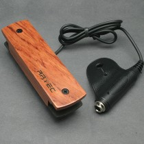 ARTEC WSHD Soundhole Humbucker - COVERED - BUBINGA FINISH