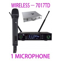 GRF 7017 SERIES - WUHF7017TD - WIRELESS MICROPHONE