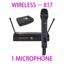 GRF 817 SERIES - WUHF817 - WIRELESS MICROPHONE