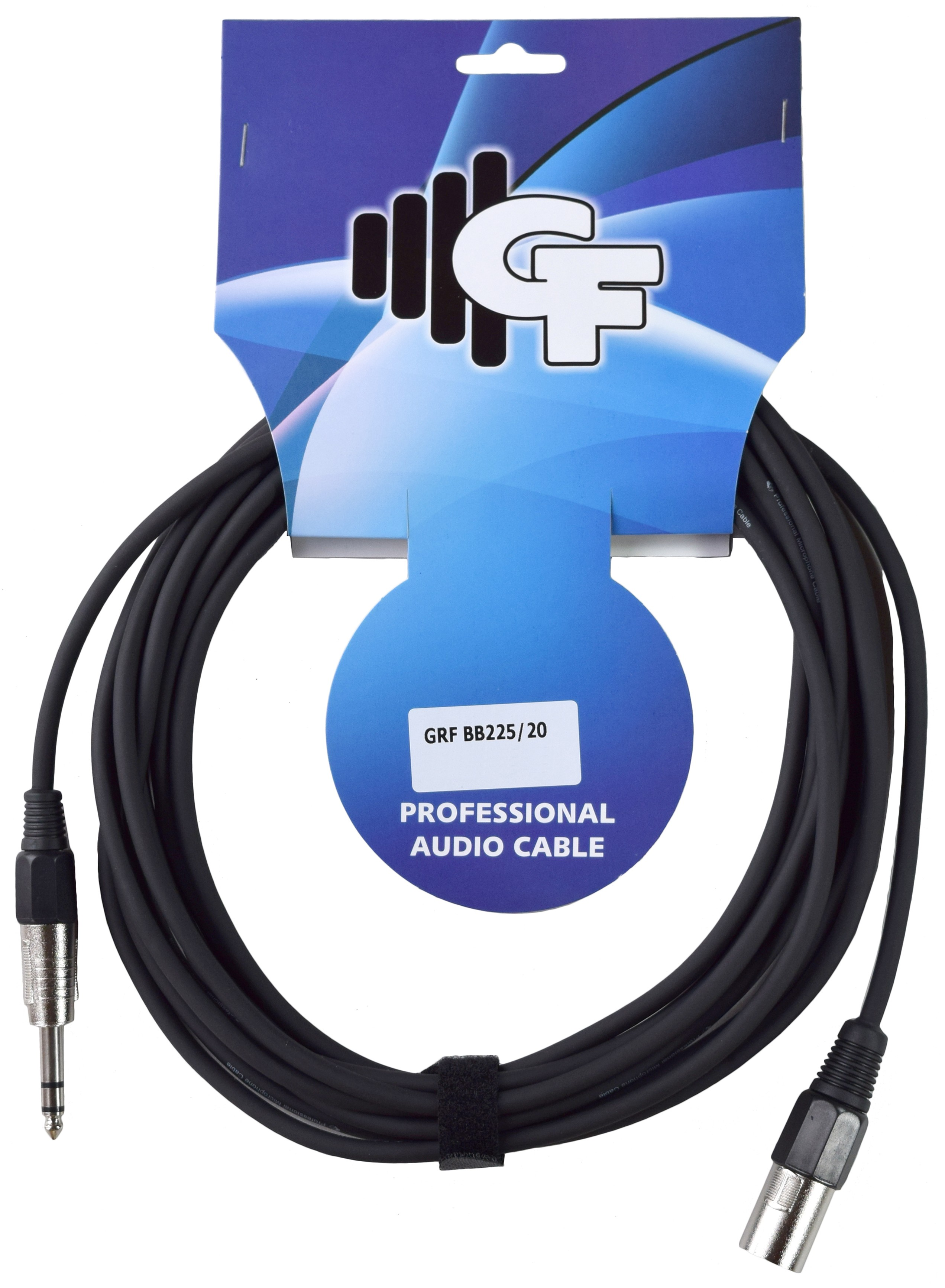 GROOVE FACTORY XLR TO 1/4 SPEAKER CABLE 20 FEET