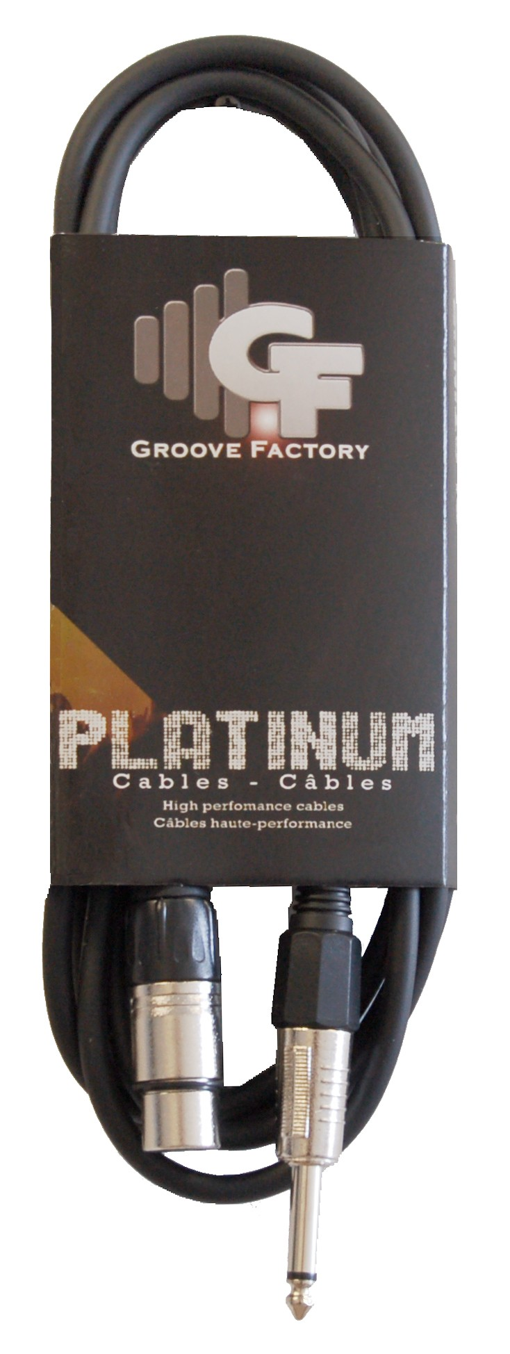 GROOVE FACTORY XLR TO 1/4 INCH CABLE - 10 FEET