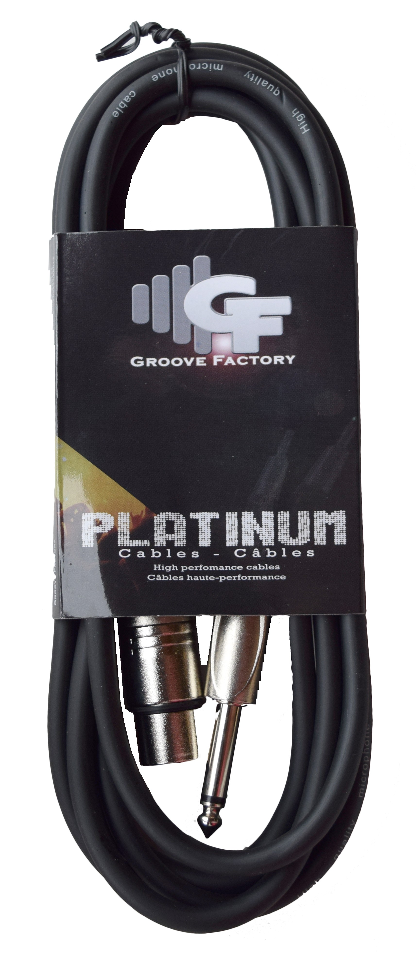 *NEW* GROOVE FACTORY MICROPHONE CABLE XLR TO 1/4 - 10 FEET