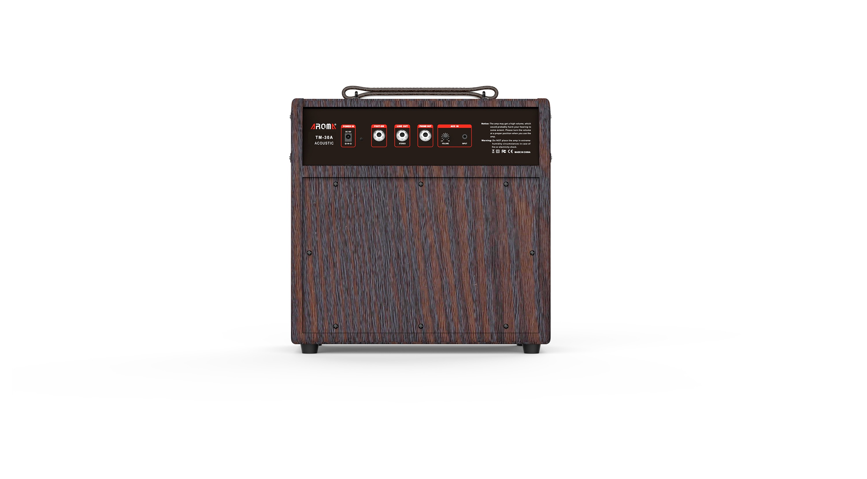 AROMA TM30A 30 WATTS DIGITAL AMPLIFIER FOR ACOUSTIC GUITAR