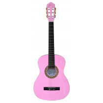 ADAGIO 36'' STUDENT CLASSICAL GUITAR IN PINK