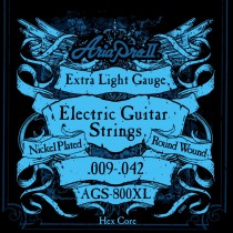 ARIA AGS-800XL ELECTRIC GUITAR STRINGS - EXTRA LIGHT