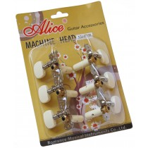 ALICE CLASSICAL GUITAR MACHINE HEAD - SHORT CONFIGURATION