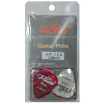 ALICE AP12A GUITAR PICKS - PACK OF 12 (.096)