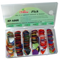 ALICE PICKBOX - 600 PICKS - RELIEF NYLON