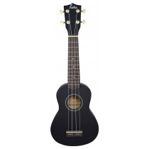 ALOHA UK400 SOPRANO UKULELE - BLACK