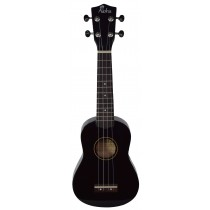 ALOHA UK300 - BLACK SOPRANO UKULELE - GIGBAG INCLUDED