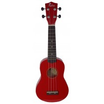 ALOHA UK300 - RED SOPRANO UKULELE - GIGBAG INCLUDED