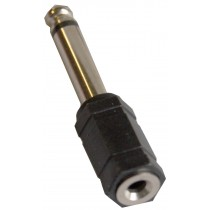 GRF AP1304 1/8 (FEMALE) TO 1/4 (MALE MONO) ADAPTOR
