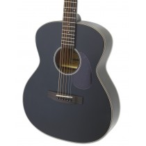 ARIA 101 ORCHESTRA SHAPE ACOUSTIC GUITAR IN MATTE BLACK