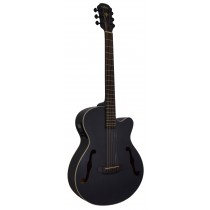 ARIA FET-F1 FLAT TOP ELECTRO-ACOUSTIC IN BLACK