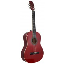 ARIA FIESTA FST200 4/4 FULL SIZE IN SEE-THROUGH RED