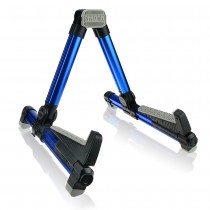 AROMA AGS08 FOLDABLE GUITAR STAND IN BLUE