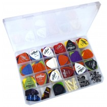 ALICE MULTI-BOX 238 MIXED BOX WITH PICKS, STRAP PINS, WHITE PINS, ETC..