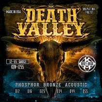 Kerly Death Valley - Phosphor Bronze Acoustic Strings - 12-55