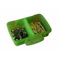 END PIN & WHITE PIN PACKAGE - BOX OF 50