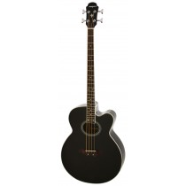ARIA FEB-30M SPRUCE TOP ACOUSTIC 4-STRING BASS WITH EQ IN BLACK