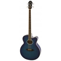 ARIA FEB-30M SPRUCE TOP ACOUSTIC 4-STRING BASS WITH EQ IN BLUE SHADE