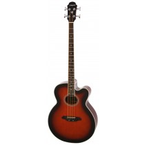 ARIA FEB-30M SPRUCE TOP ACOUSTIC 4-STRING BASS WITH EQ IN BROWN SUNBURST