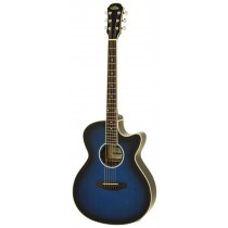 ARIA FET-01STD ELECTRO ACOUSTIC GUITAR IN BLUE SHADE