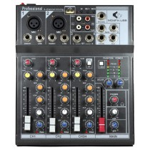 GRF M SERIES - M04FX-USB - 4 CHANNEL MIXER WITH EFFECTS