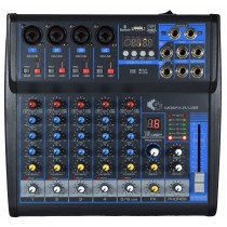 GRF M06FX-R-USB - 6 CHANNEL MIXER