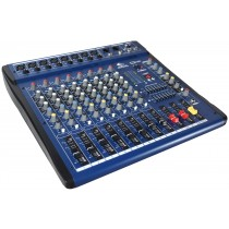 GRF SM SERIES - SM08FX-USB - 8 CHANNEL MIXER
