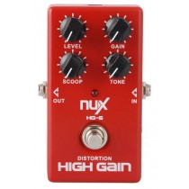 NUX HG-6 HIGH GAIN PEDAL